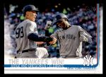 2019 Topps #14   -  Aaron Judge / Didi Gregorius The Yankees Win! Front Thumbnail