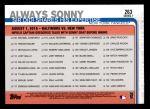 2019 Topps #263   -  Sonny Gray / Didi Gregorius Always Sonny Back Thumbnail
