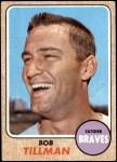 1968 Topps #174  Bob Tillman  Front Thumbnail