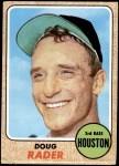 1968 Topps #332  Doug Rader  Front Thumbnail
