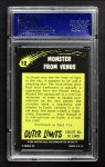 1964 Outer Limits #12   Monster From Venus Back Thumbnail
