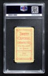1909 T206  Cy Barger  Back Thumbnail