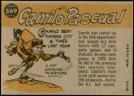 1960 Topps #569   -  Camilo Pascual All-Star Back Thumbnail