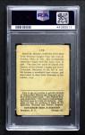 1914 Cracker Jack #110  Bob Bescher  Back Thumbnail