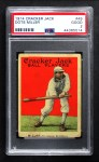 1914 Cracker Jack #49  Dots Miller  Front Thumbnail