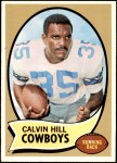 1970 Topps #260 BLK Calvin Hill   Front Thumbnail