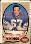 1970 Topps #108  Grady Alderman  Front Thumbnail