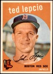 1959 Topps #348  Ted Lepcio  Front Thumbnail