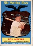 1959 Topps #566   -  Roy Sievers All-Star Front Thumbnail