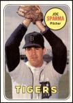 1969 Topps #488  Joe Sparma  Front Thumbnail