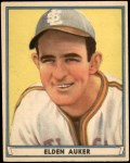1941 Play Ball #45  Elden Auker  Front Thumbnail