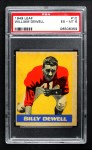 1949 Leaf #10  Billy Dewell  Front Thumbnail