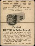 1947 Tip Top Bread  Al Brazle  Back Thumbnail