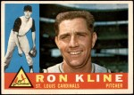 1960 Topps #197  Ron Kline  Front Thumbnail
