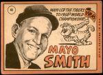 1969 Topps #40  Mayo Smith  Back Thumbnail