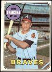 1969 Topps #398  Tito Francona  Front Thumbnail