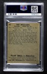 1939 Play Ball #92  Ted Williams  Back Thumbnail