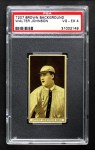 1912 T207  Walter Johnson    Front Thumbnail