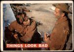 1956 Topps Davy Crockett Orange Back #55   Things Look Bad  Front Thumbnail