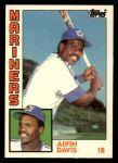 1984 Topps Traded #28  Alvin Davis  Front Thumbnail