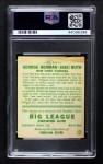 1933 Goudey #144  Babe Ruth  Back Thumbnail