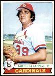 1979 Topps #444  Aurelio Lopez  Front Thumbnail