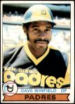 1979 Topps #30  Dave Winfield  Front Thumbnail
