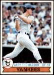 1979 Topps #387  Gary Thomasson  Front Thumbnail