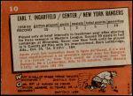 1959 Topps #10  Earl Ingarfield  Back Thumbnail