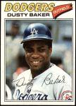 1977 Topps #146  Dusty Baker  Front Thumbnail