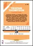 2019 Donruss #43  Tristan Thompson  Back Thumbnail