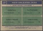 1975 Topps #127   -  Stu Lantz / EC Coleman / Pete Maravich Jazz Leaders Back Thumbnail