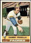 1976 Topps #32  Danny Frisella  Front Thumbnail