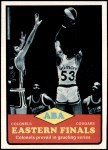 1973 Topps #207   ABA Eastern Finals Front Thumbnail