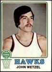 1973 Topps #72  John Wetzel  Front Thumbnail