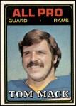 1974 Topps #126 AP  -  Tom Mack All-Pro Front Thumbnail