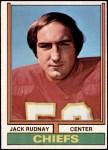 1974 Topps #271  Jack Rudnay  Front Thumbnail