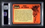 1966 Topps Batman Black Bat #2   Robin - Boy Wonder Back Thumbnail