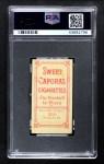 1909 T206 POR Boss Schmidt  Back Thumbnail