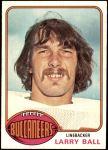 1976 Topps #297  Larry Ball   Front Thumbnail