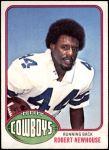 1976 Topps #14  Robert Newhouse   Front Thumbnail