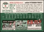 2003 Topps Heritage #6 OLD Brian Giles   Back Thumbnail