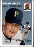 2003 Topps Heritage #6 OLD Brian Giles   Front Thumbnail