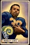 1951 Bowman #5  Woody Lewis  Front Thumbnail