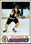 1977 Topps #95  Gregg Sheppard  Front Thumbnail