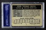 1954 Wilson Franks  Johnny Groth  Back Thumbnail