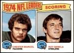 1975 Topps #4   -  Chester Marcol / Roy Gerela Scoring Leaders Front Thumbnail