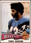 1975 Topps #54  Tony Greene  Front Thumbnail