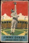 1933 DeLong Gum R333 #18  Jimmy Dykes  Front Thumbnail