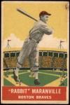 1933 DeLong Gum R333 #13  Rabbit Maranville  Front Thumbnail